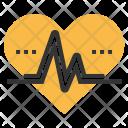 Pulse Heartbeat Measure Icon