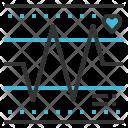 Hearth Rate Pulse Icon