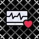Monitor Pulses Beats Icon