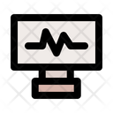 Pulse Pulse Monitoring Cardiogram Icon