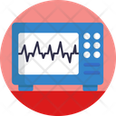 Pulse Monitoring Heart Rate Heart Beat Icon