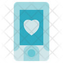Physiotherapy Pulse Oximeter Heart Icon