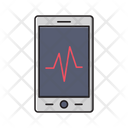 Mobile Pulses Health Icon
