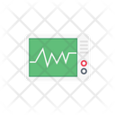 Medical Monitor Pulses Icon