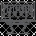 Pump Organ Instrument Icon