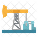 Pumpjack Oil Petroleum Icon
