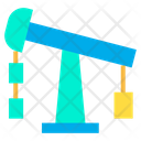 Oil Pump Refinery Well Icon