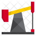 Pumpjack Oil Industry Icon