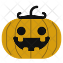 Pumpkin Jack O Lantern Scary Icon