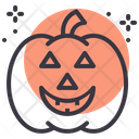 Pumpkin Lantern Scary Icon
