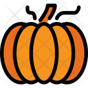 Pumpkin Fruit Food Icon