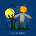 Pumpkin Dummy Bat Icon