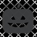 Pumpkin Halloween Lantern Icon