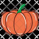 Pumpkin Vegetable Healthy Food Icon