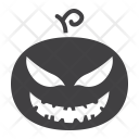 Pumpkin Evil Decoration Icon
