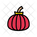 Pumpkin Vegetable Halloween Icon