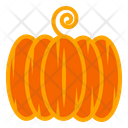 Pumpkin Vegetable Autumn Icon