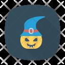 Pumpkin Clown Jester Icon