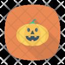 Pumpkin Clown Halloween Icon