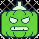 Halloween Horror Pumpkin Icon