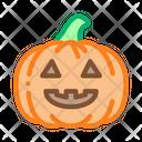 Halloween Pumpkin Celebration Icon