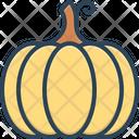 Pumpkin Gourd Food Icon