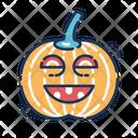 Pumpkin Fruit Spooky Icon