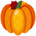Fruit Pumpkin Vegan Icon