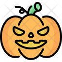 Pumpkin Jack O Lantern Spooky Icon