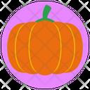 Pumpkin Halloween Vegetable Icon