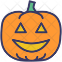 Pumpkin Lantern Jack O Lantern Icon