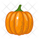 Pumpkin Vegetables Vegetarian Icon
