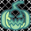 Pumpkin Spooky Scary Icon