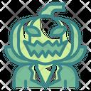 Pumpkin Halloween Horror Icon