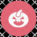 Pumpkin Clown Creepy Icon