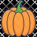 Pumpkin Vegetarian Healthy Food Icon