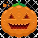 Pumpkin Evil Ghost Icon