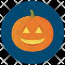 Lit Carved Pumpkin Icon