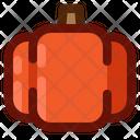 Halloween Monster Pumpkin Icon
