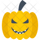 Pumpkin Scary Fearful Icon