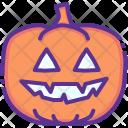 Pumpkin Scary Evil Icon