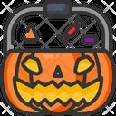 Pumpkin Basket Icon