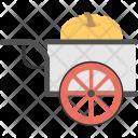 Pumpkin Cart Icon