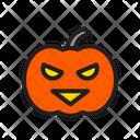 Halloween Pumpkin Scary Icon