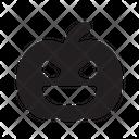 Halloween Pumpkin D Icon