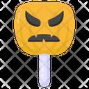 Pumpkin Lollipop Icon