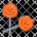 Pumpkin Pops Pumpkin Lollipops Lollipops Icon