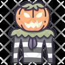 Pumpkin Man Icon