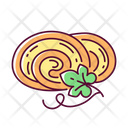 Pumpkin Roll Roll Vegetarian Icon