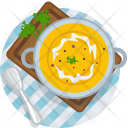 Pumpkin Soup Lunch Icon